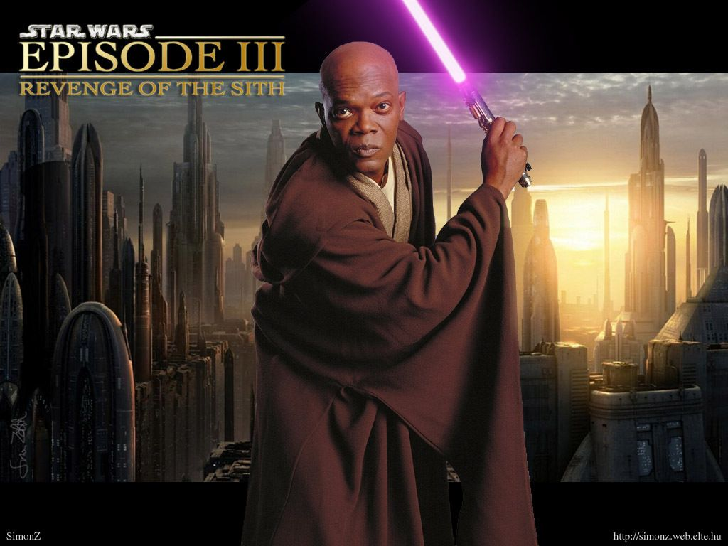 Mace Windu Star Wars Characters Wallpaper Star Wars Pinterest