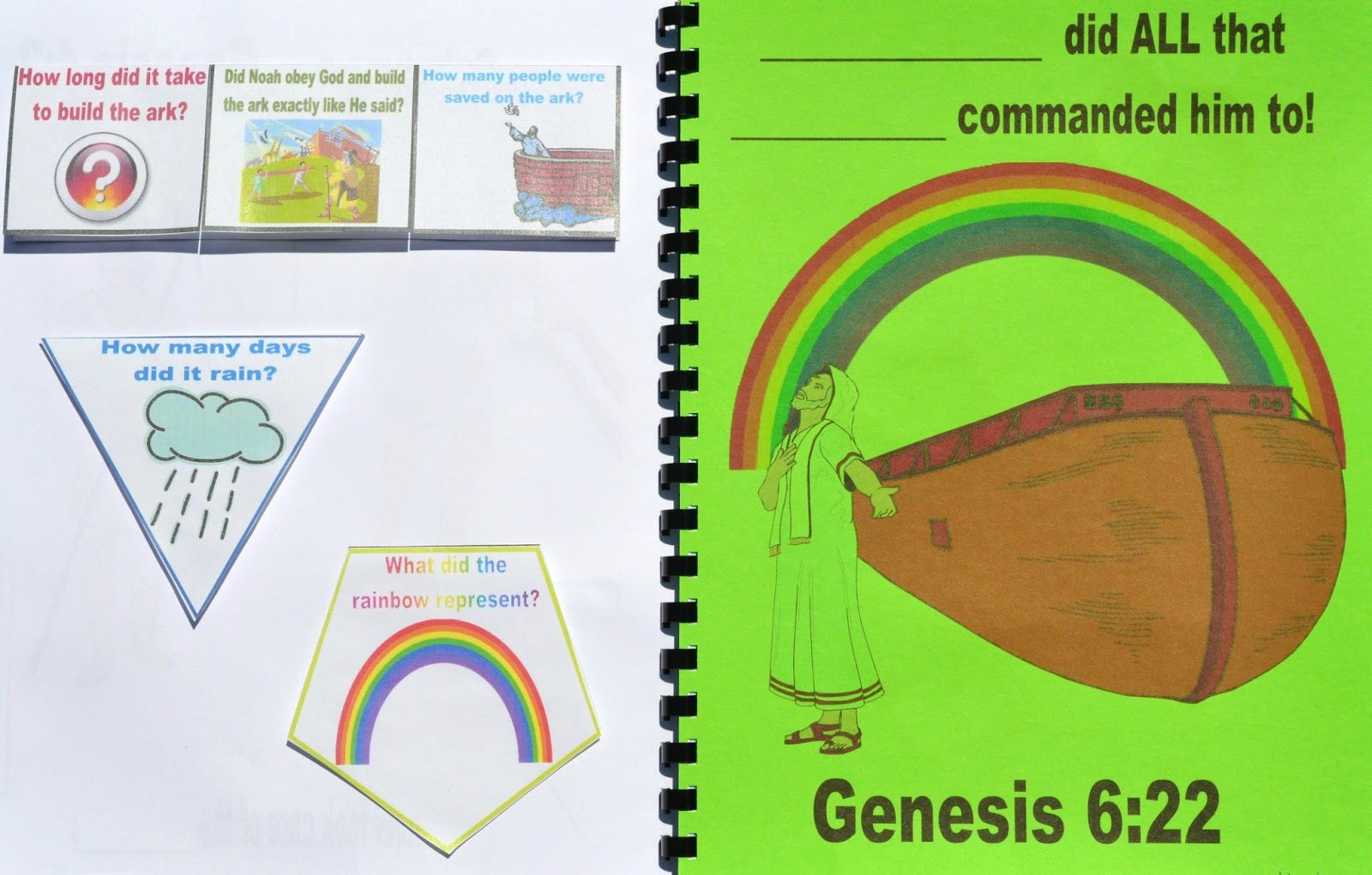 Genesis: Noah\'s Ark lesson, ideas and printables #Biblefun ...