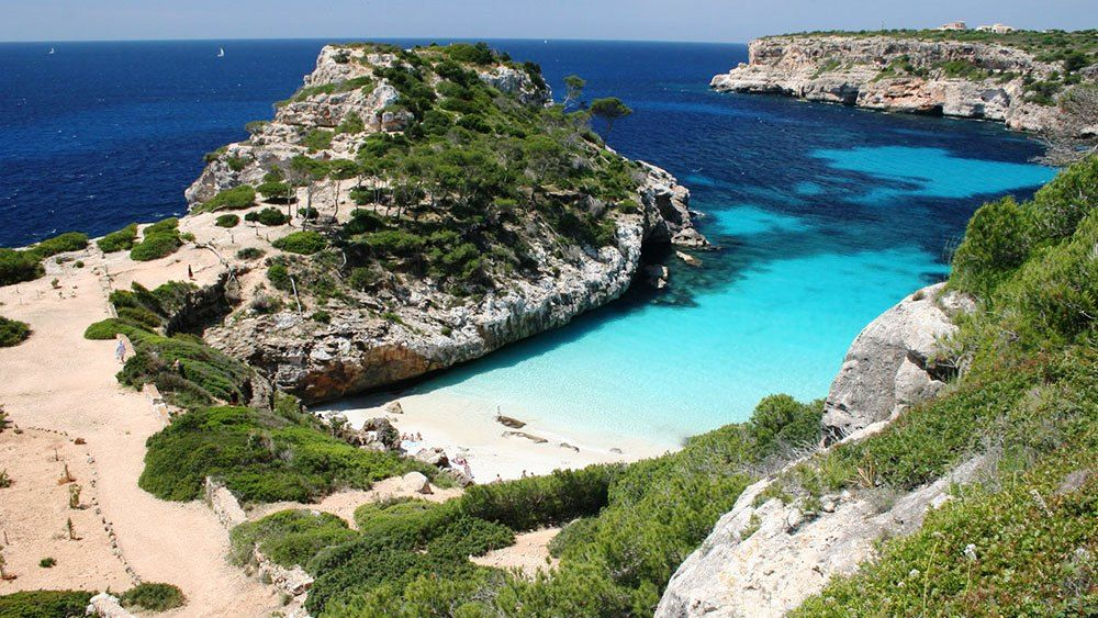Calo Des Moro Beach Tourism Spain