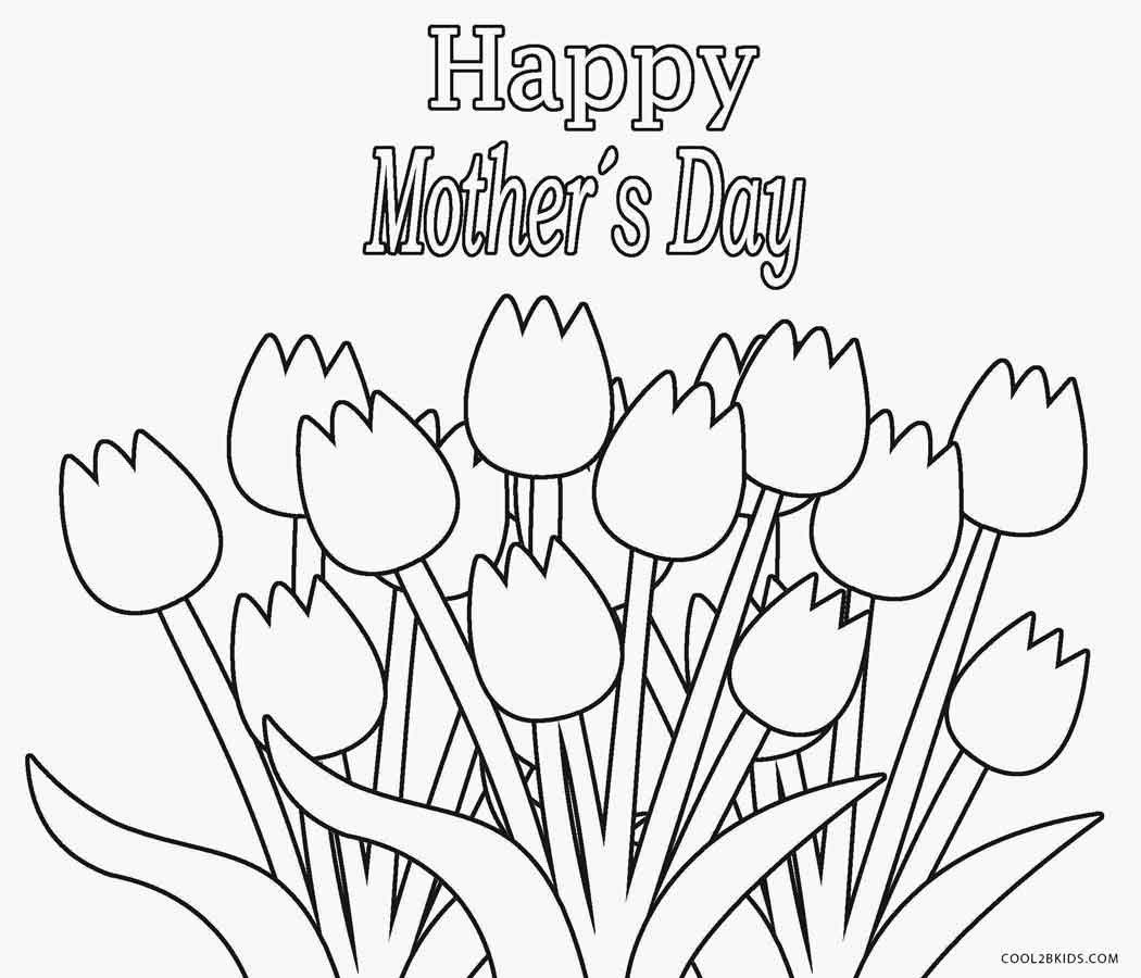 Mothers Day Coloring Pages 2018 Mothers Day Coloring Pages