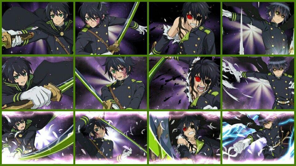 Yuichiro Hyakuya, human, demon, king of salt