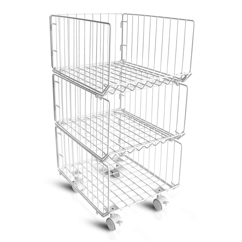 Storage Organizer Foldable Stac Stackable Storage Bins Closet Organization Diy Diy Storage Shelves