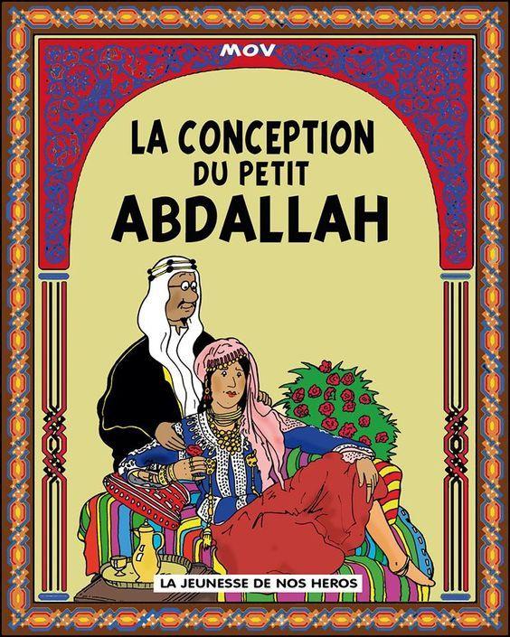 Les Aventures de Tintin - Album Imaginaire - La Conception du Petit Abdallah: