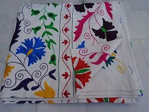 Cotton-Queen-Kantha-Quilt-In-Suzani-Queen-Throw-In-Suzani-Embroidery-226