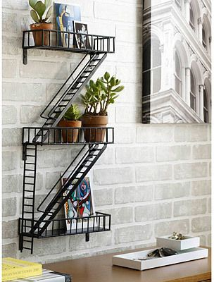 Fire Escape Shelf