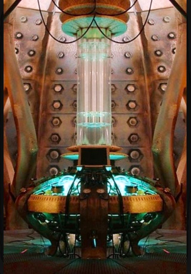 Tardis Interior Used For Ninth And Tenth Doctors
