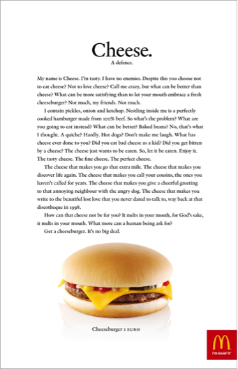 3  Copy  The advertisement uses paragraphs of text to