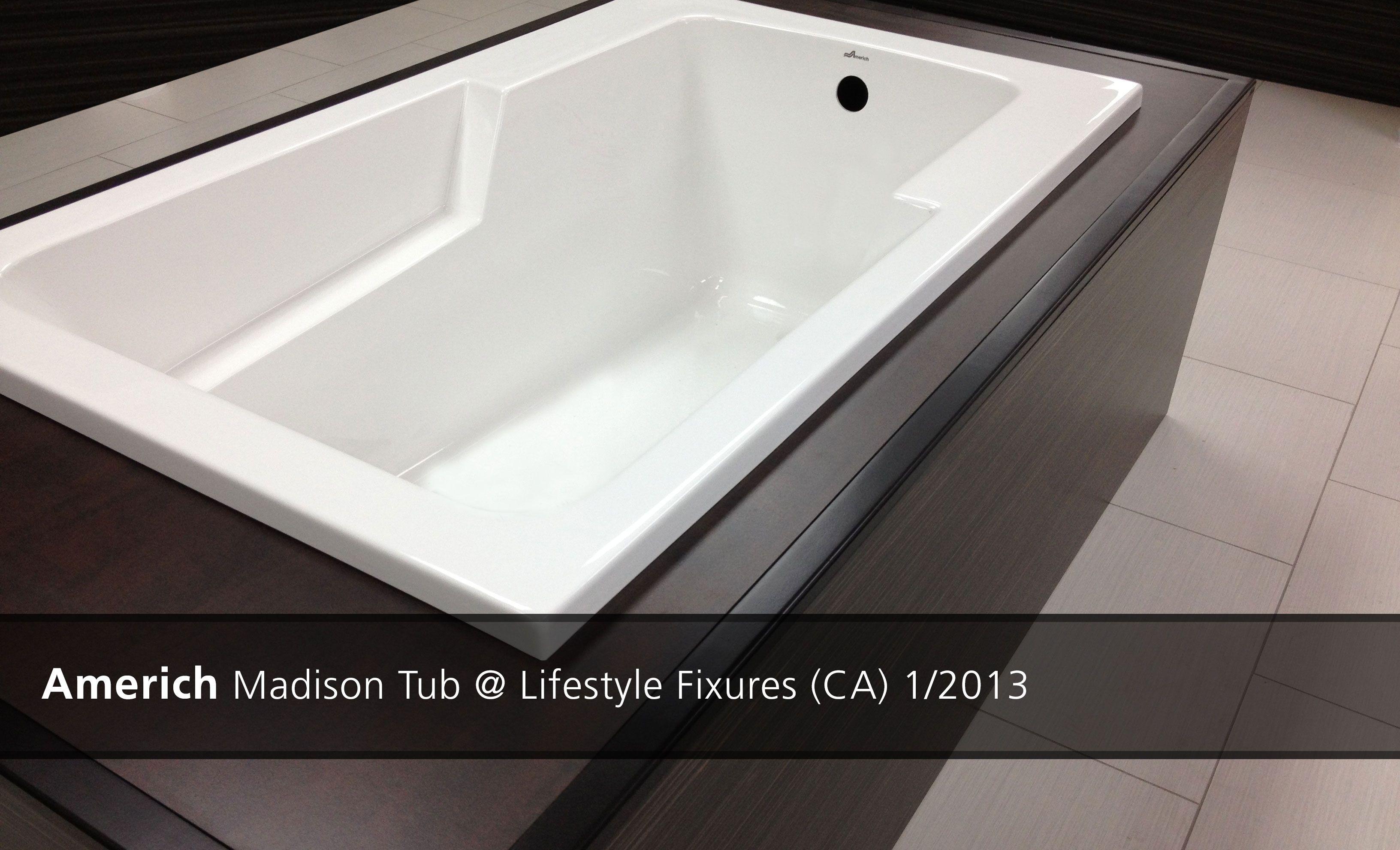 Americh Madison Tub @ Lifestyle Fixures (CA) - 2013 | Showroom ...