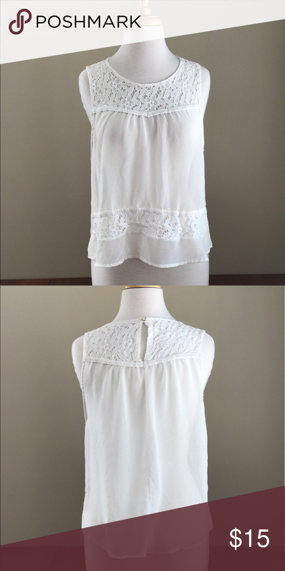 Lace Trim Semi Sheer Top Nordstrom Lace Trim Nordstrom And