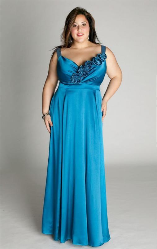 Modele de robe de soiree pour grande taille