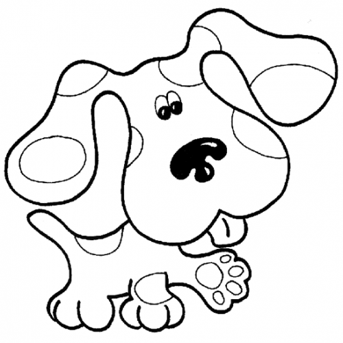 Www Plantsaspersons Com Coloring Pages Directory Coloring Pages For Kids Blues Clues Super Coloring Pages