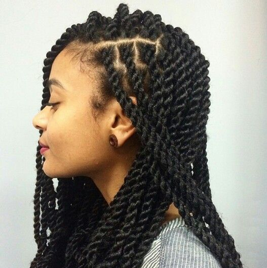 Braids ¤ Twist (Natural hair & Protective Style) | . hair ...