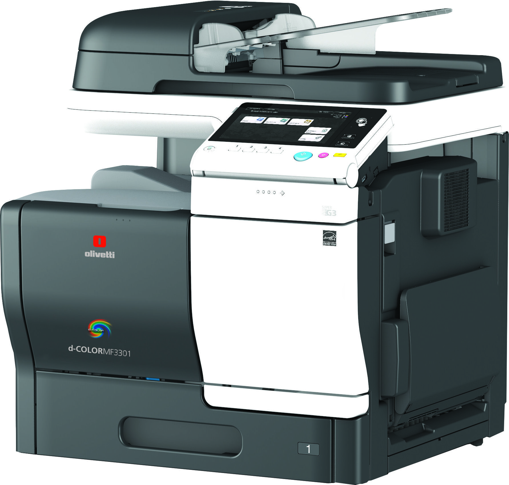 Olivetti S Range Of A4 Colour Copier Printer Scanner Mfps