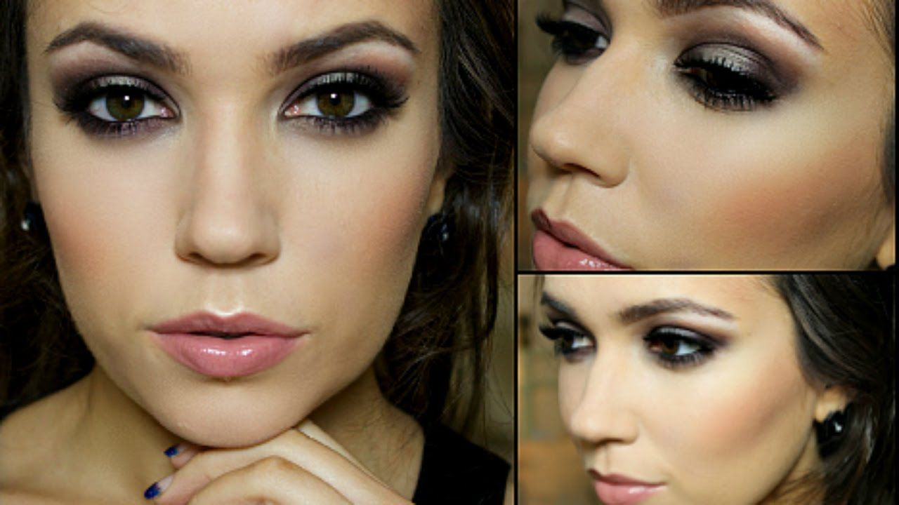 Themakeupchair sexy glam drama but not super involved smokey eye themakeupchair sexy glam drama but not super involved smokey eye look makeup tutorial videosprom baditri Choice Image