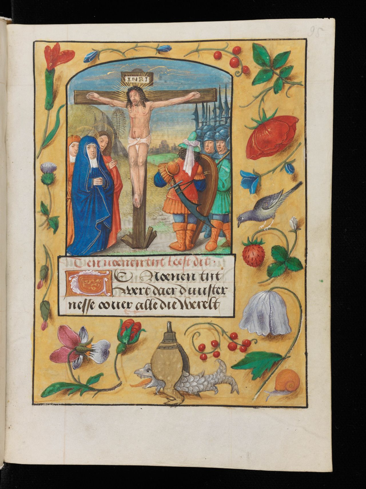 Sexy Codicology: Portrayal of the Crucifixion of Christ in a 15th...