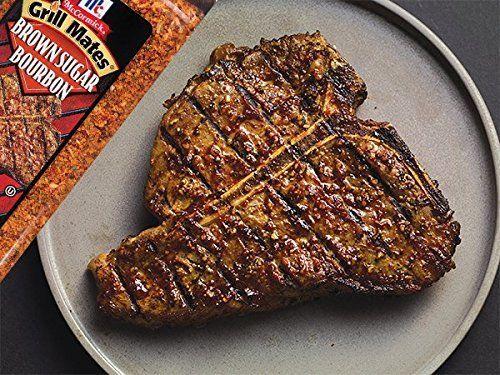 Amazon.com : McCormick Grill Mates Brown Sugar Bourbon, 13.5 oz : Meat Seasoningss : Grocery & Gourmet Food