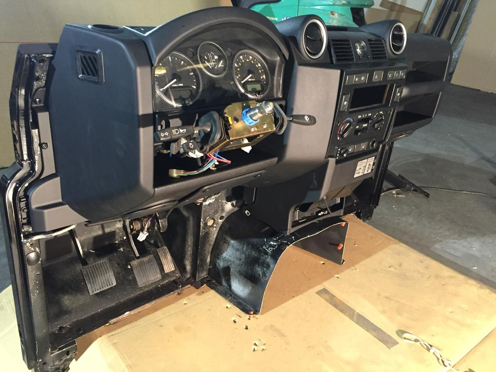 Lhd Land Rover Defender Puma Bulkhead Dashboard Fits All Years Inc Nas Defenders Defender For Sale Defender Land Rover