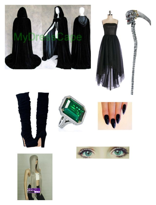 """Undertaker"" by deathnote165 ❤ liked on Polyvore"
