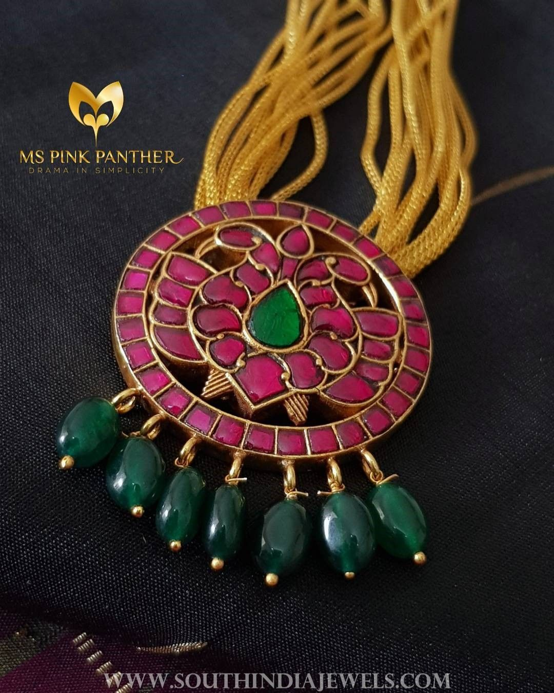 gold bp stones jewelry with set pendants item ruby finish sets emerald oxidized indian antique aj htm and us necklace sold white big color
