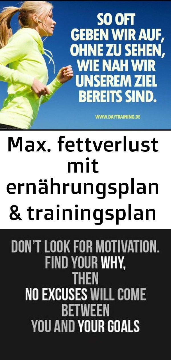 Max fettverlust mit ernährungsplan  trainingsplan zum abnehmen  diät  gesunde ernährung  tra Max Fettverlust mit Ernährungsplan  Trainingsplan zum Abn...