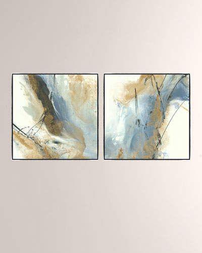 Homeward Bound Giclee On Canvas Wall Art With Frame Set Of 2 Wall Canvas Canvas Wall Art Canvas Wall Decor