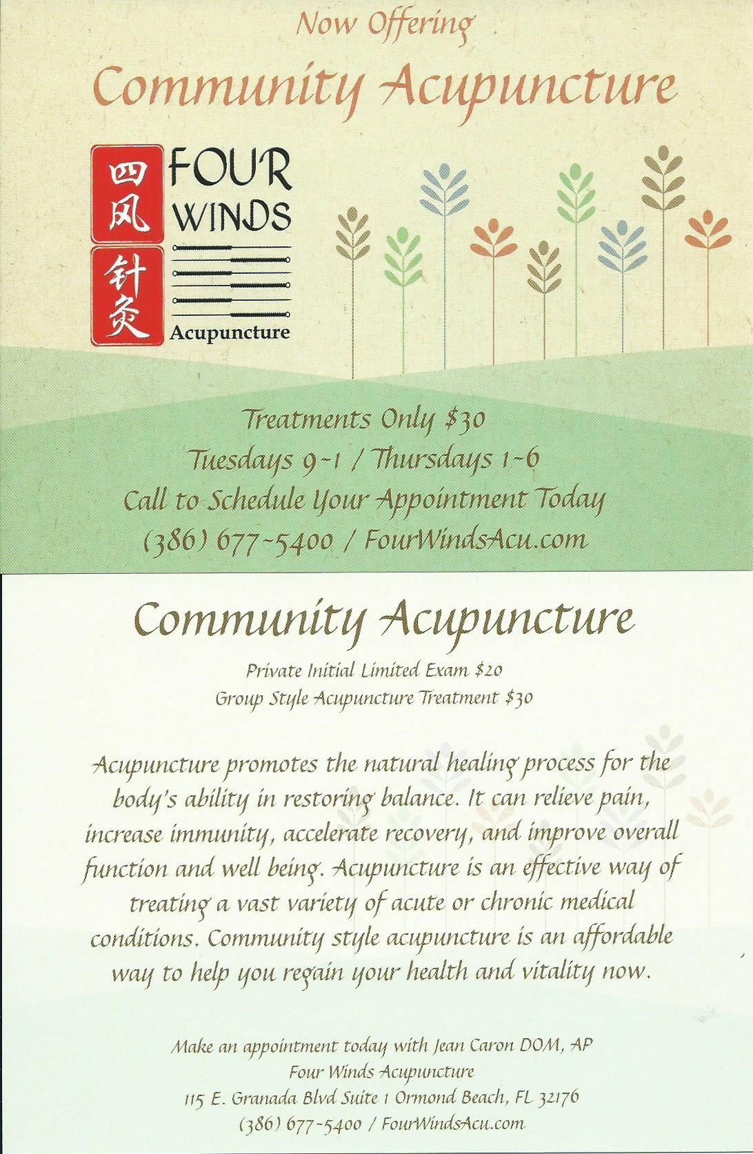 Four winds acupuncture fourwindsacu on pinterest