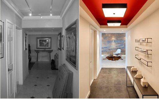 Corridoio Lungo Casa : Il corridoio è solitamente il primo spazio di casa ufficio nel