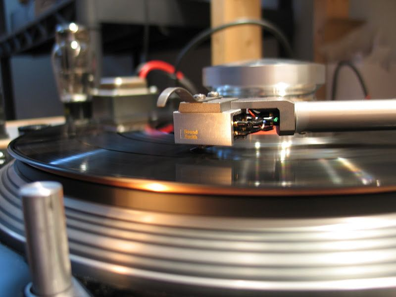 My highly modified Technics SL1200 MKII Hifi audio