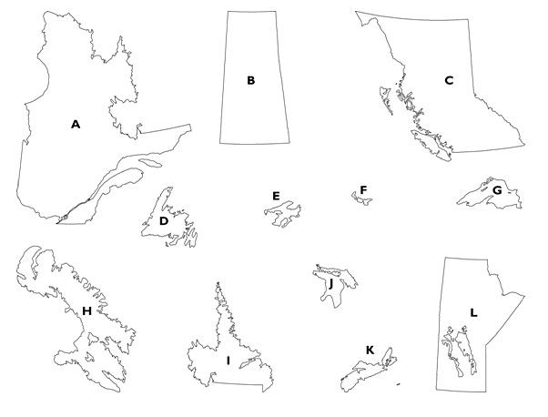 Hey Canada Test Your Geography Knowledge With Our Brand New GEO - Geography test