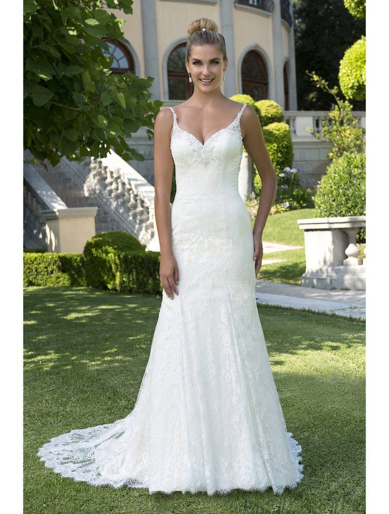 13+ Stella york style 6793 spaghetti strap lace mermaid wedding dress information
