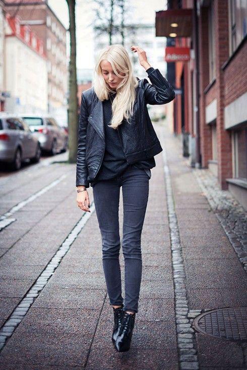 All black (via Bloglovin.com )