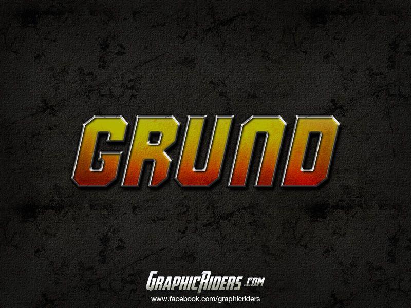 Action style – GRUND