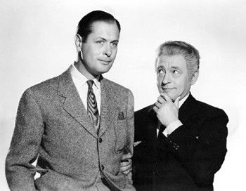 "Here Comes Mr. Jordan"". Robert Montgomery and Claude Rains; great ..."