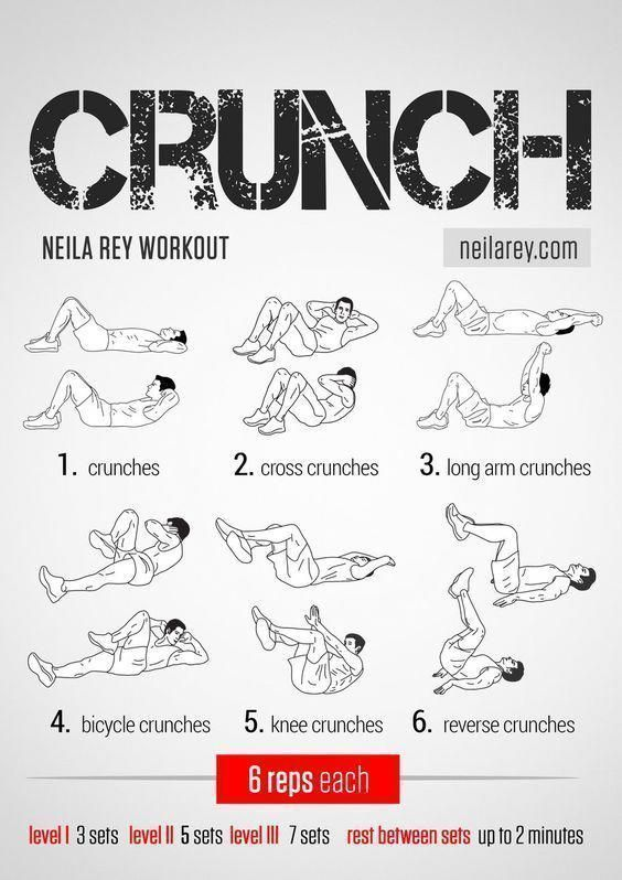 Crunch Workout / Works: lower abs, upper abs, lateral abs #fitness #workout #workoutroutine #abswork...
