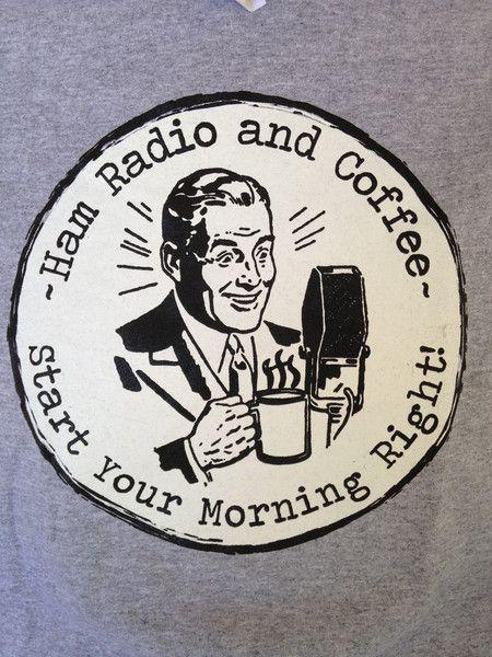 T169 Coffee And Ham Radio Ham Radio Radio Humor Ham Radio
