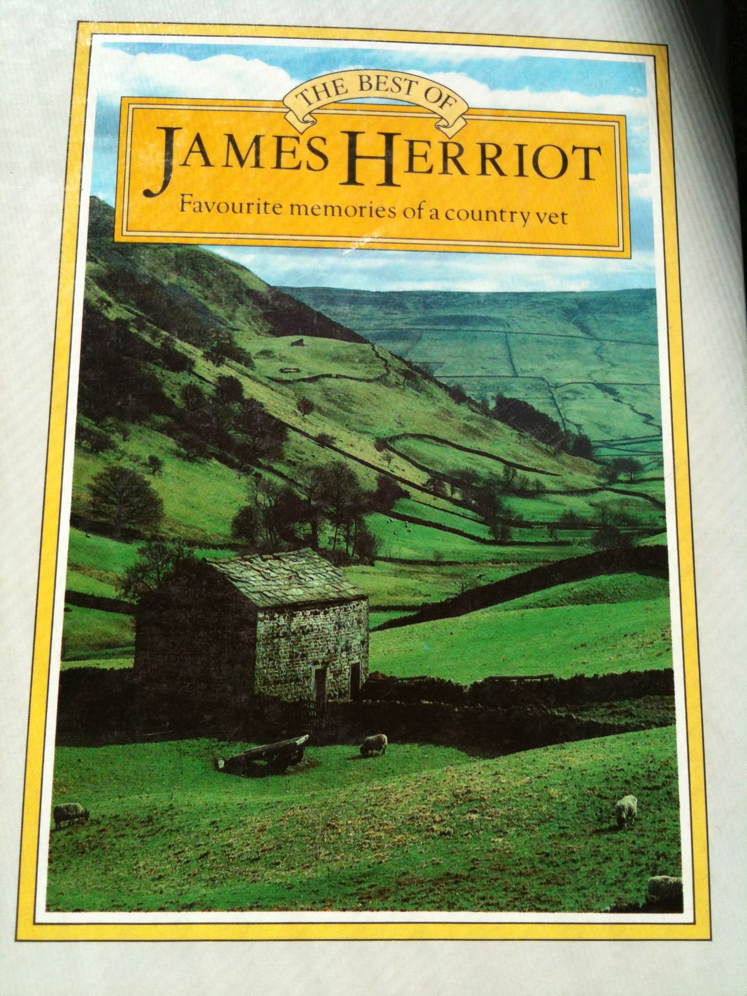 """James Herriot  A compilation of """"Memories of a Country Vet""""  I read the whole series when I was young - I so wanted to BE a country vet!"""