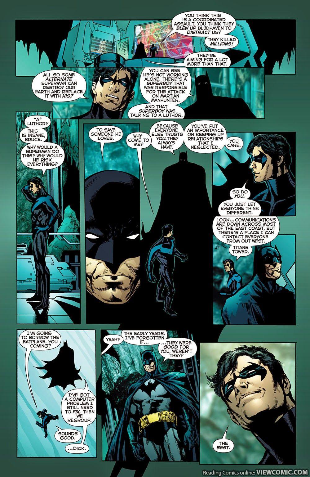 Infinite Crisis 04 (of 07) (2006) ………………… | View Comic