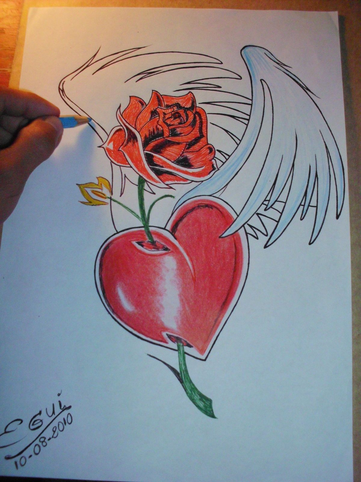 Pin Imagenes De Corazones Chidos Para Dibujar Tattoo On Pinterest ...