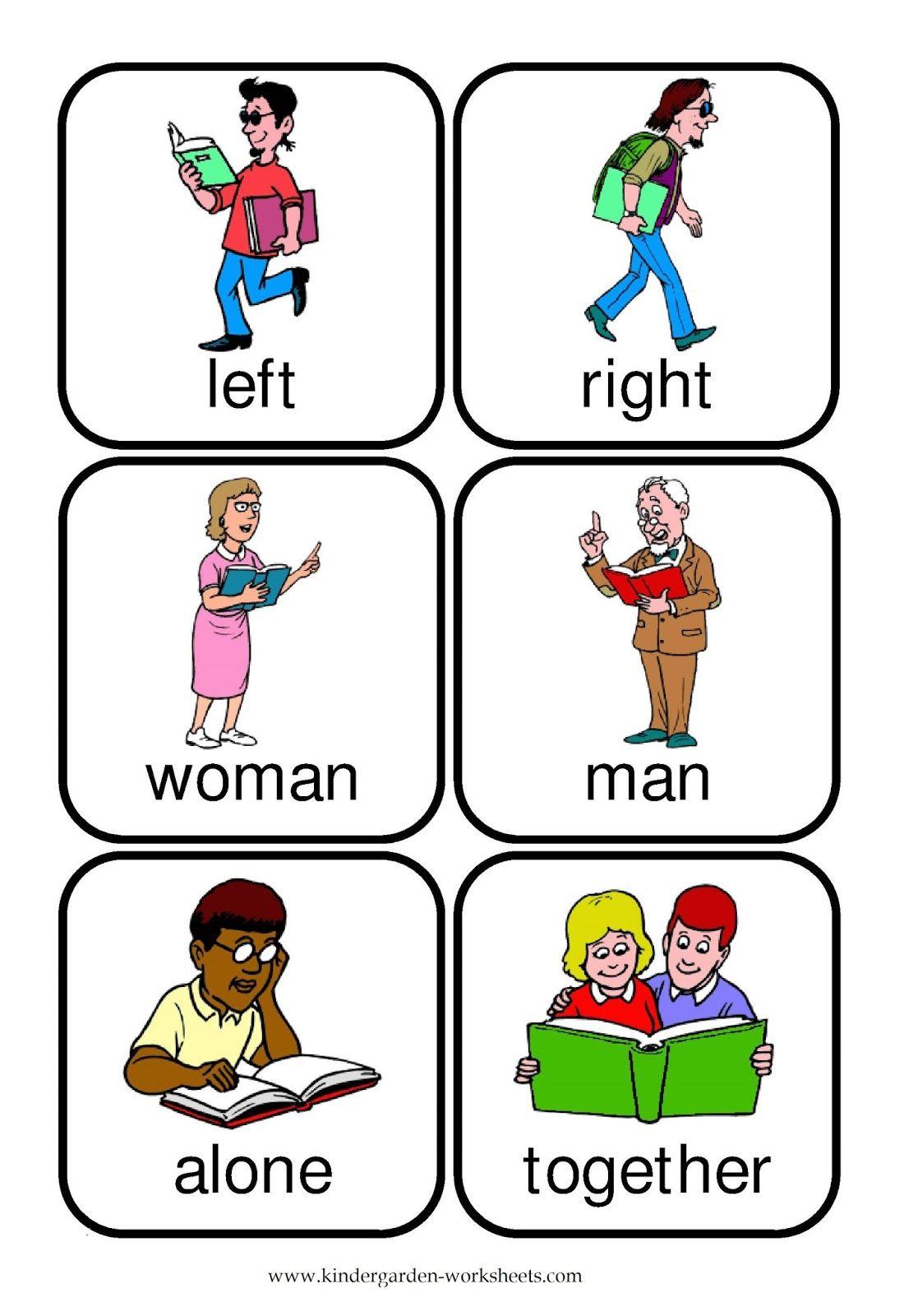 ผลการค้นหารูปภาพสำหรับ opposite words | Education ...