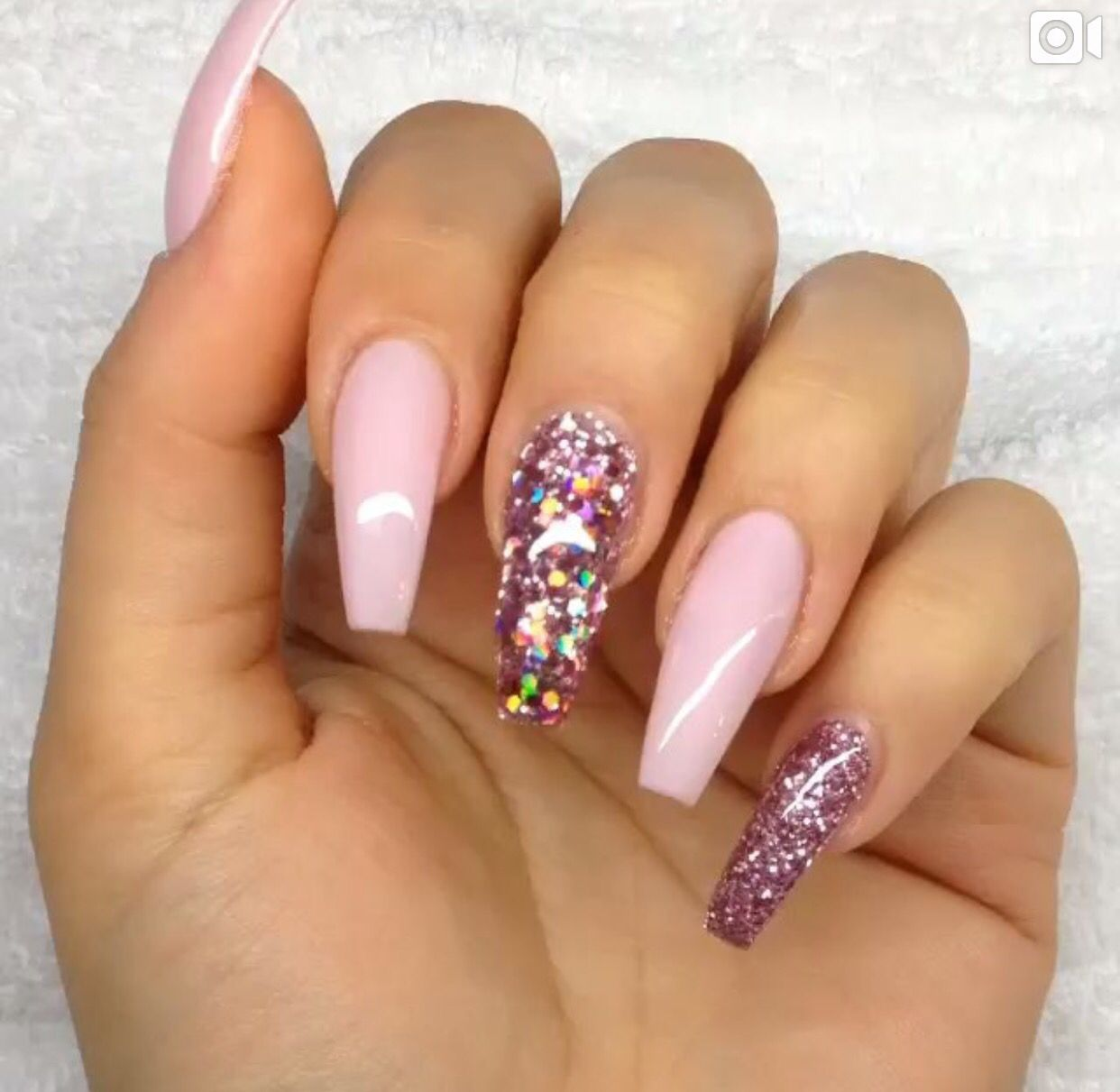 Baby Pink Nails   Nails   Pinterest   Fingernägel und Frisur