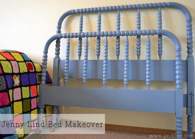 jenny lind bed makeover jennylind spindlebed paintedbed - Jenny Lind Bed