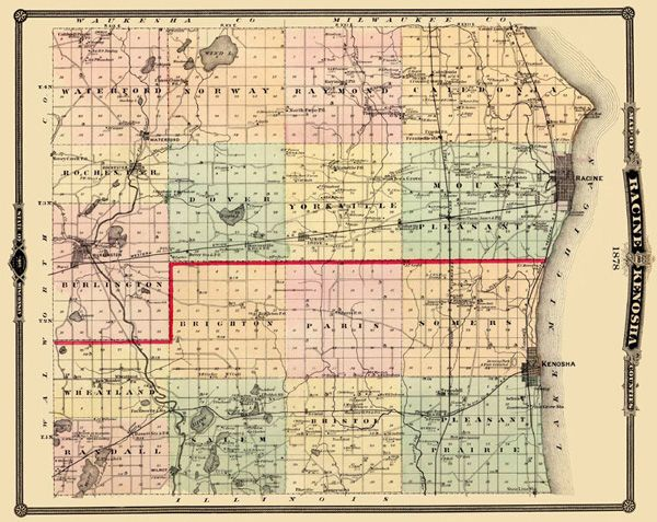 Details about Old County Map - Racine, Kenosha Wisconsin Landowner on kenosha wisconsin birth certificates printable, kenosha wisconsin hospital, kenosha lighthouse wisconsin, kenosha events, kenosha wisconsin map with cities and towns, kenosha lake, kenosha wisconsin rivers map, kenosha shooting,