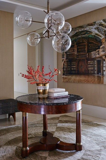 traditional hall with modern pendant light house contemporary and