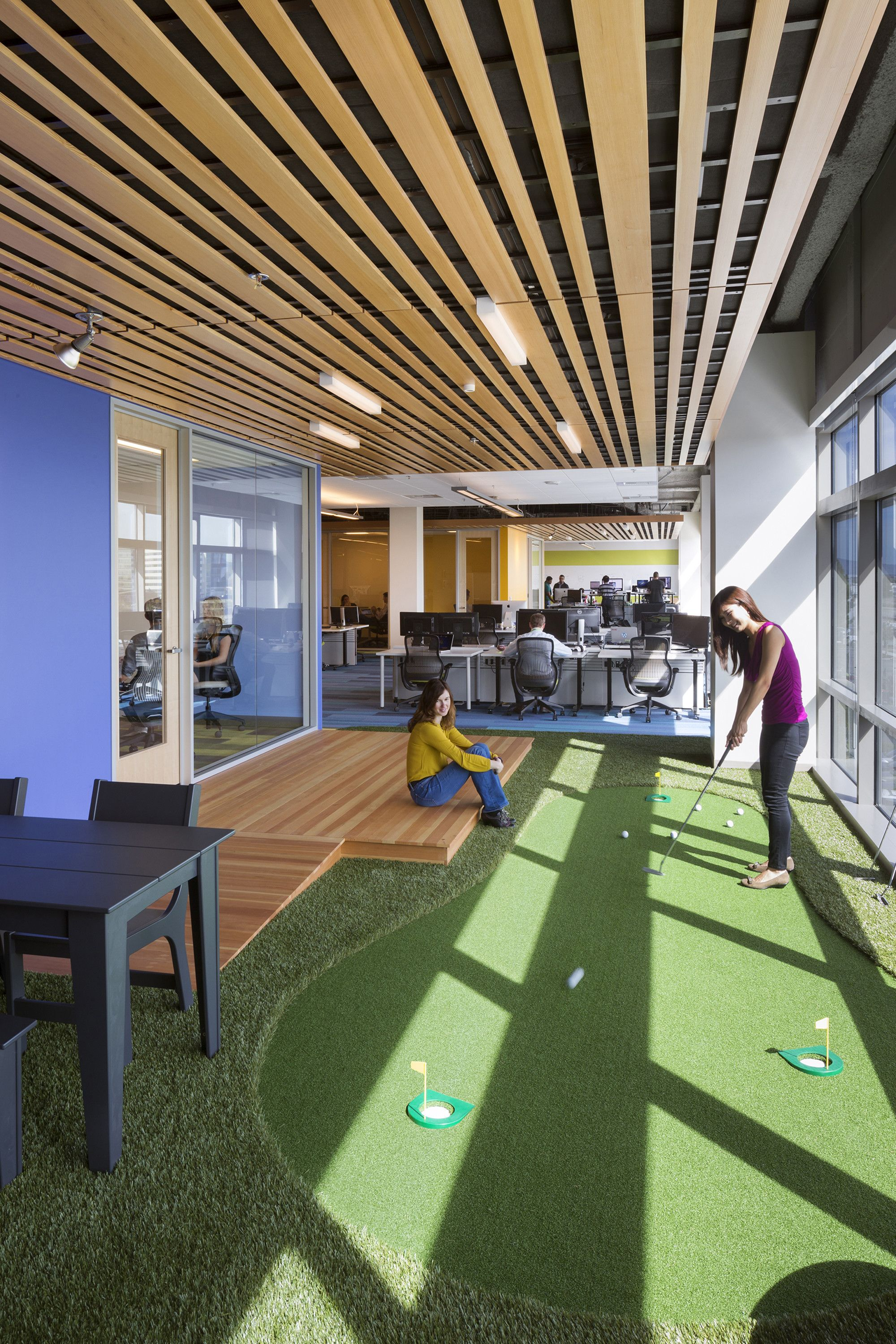 silicon valley office. Gallery Of GoDaddy Silicon Valley Office / DES Architects + Engineers - 5 A