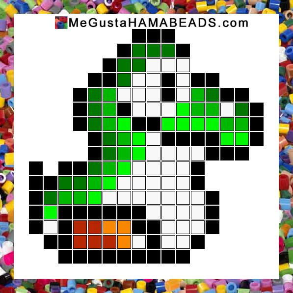 MeGustaHAMABEADS.com: Patrones Hama Beads Super Mario World parte 1