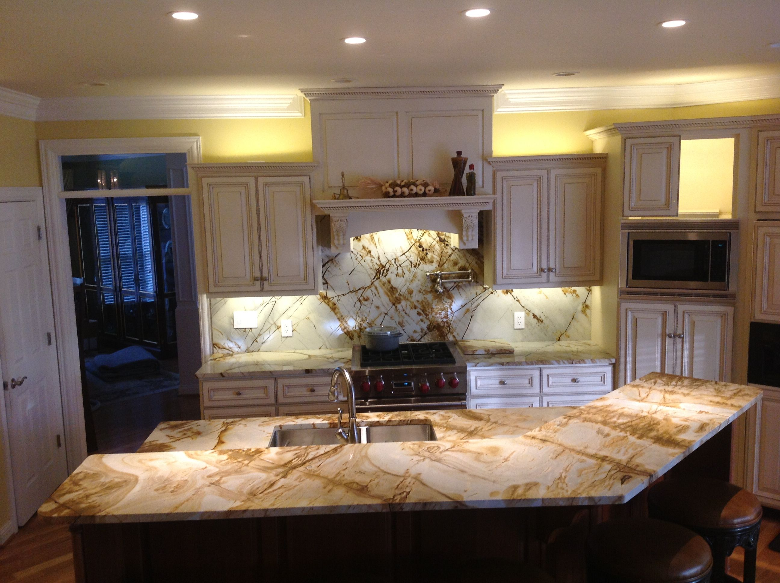 Elegant Danville Kitchen Remodel With Roma Imperial Countertops