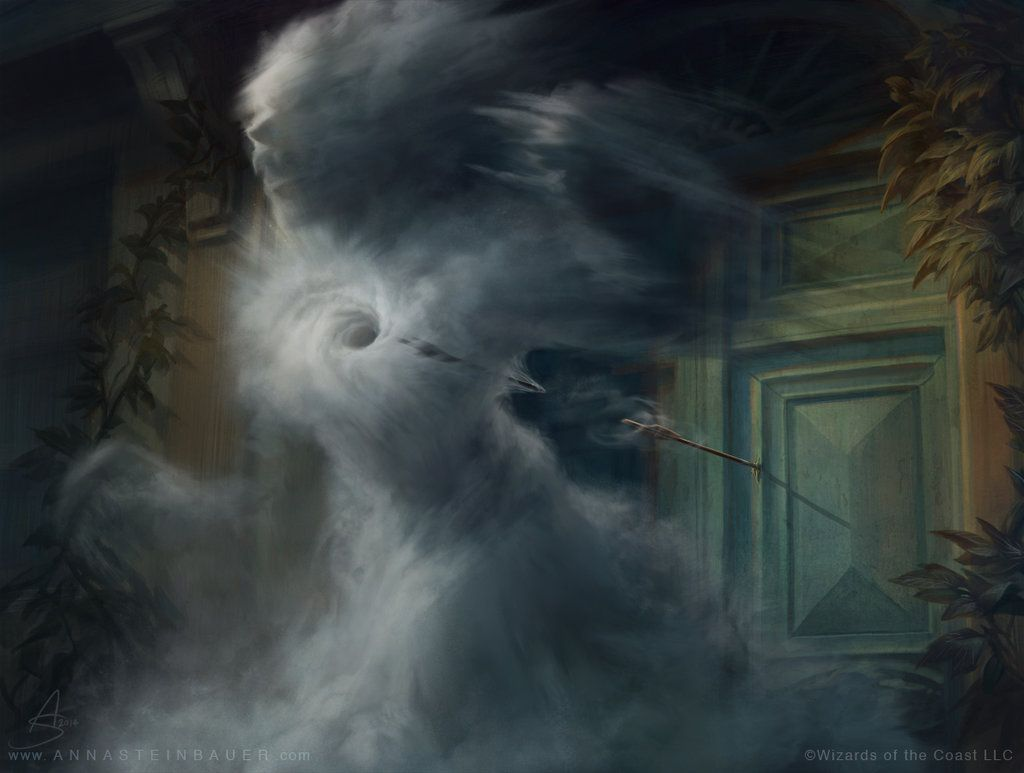 MtG Insidious Mist | Magic The Gathering Offical Art | Art
