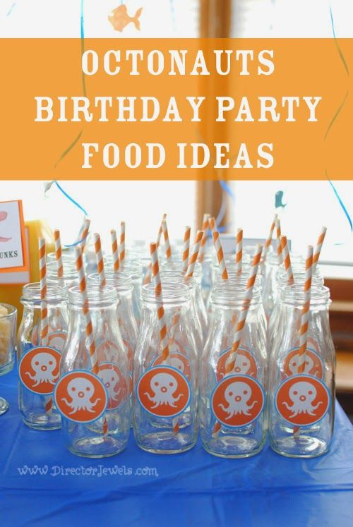Octonauts Birthday Party Food Ideas Under the Sea Party at