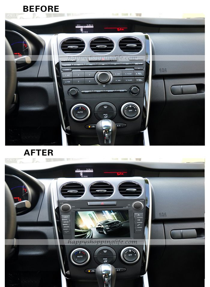 Pin by xiao ling on car dvd player | Mazda cx 7, Gps