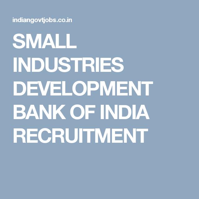 small industries development bank